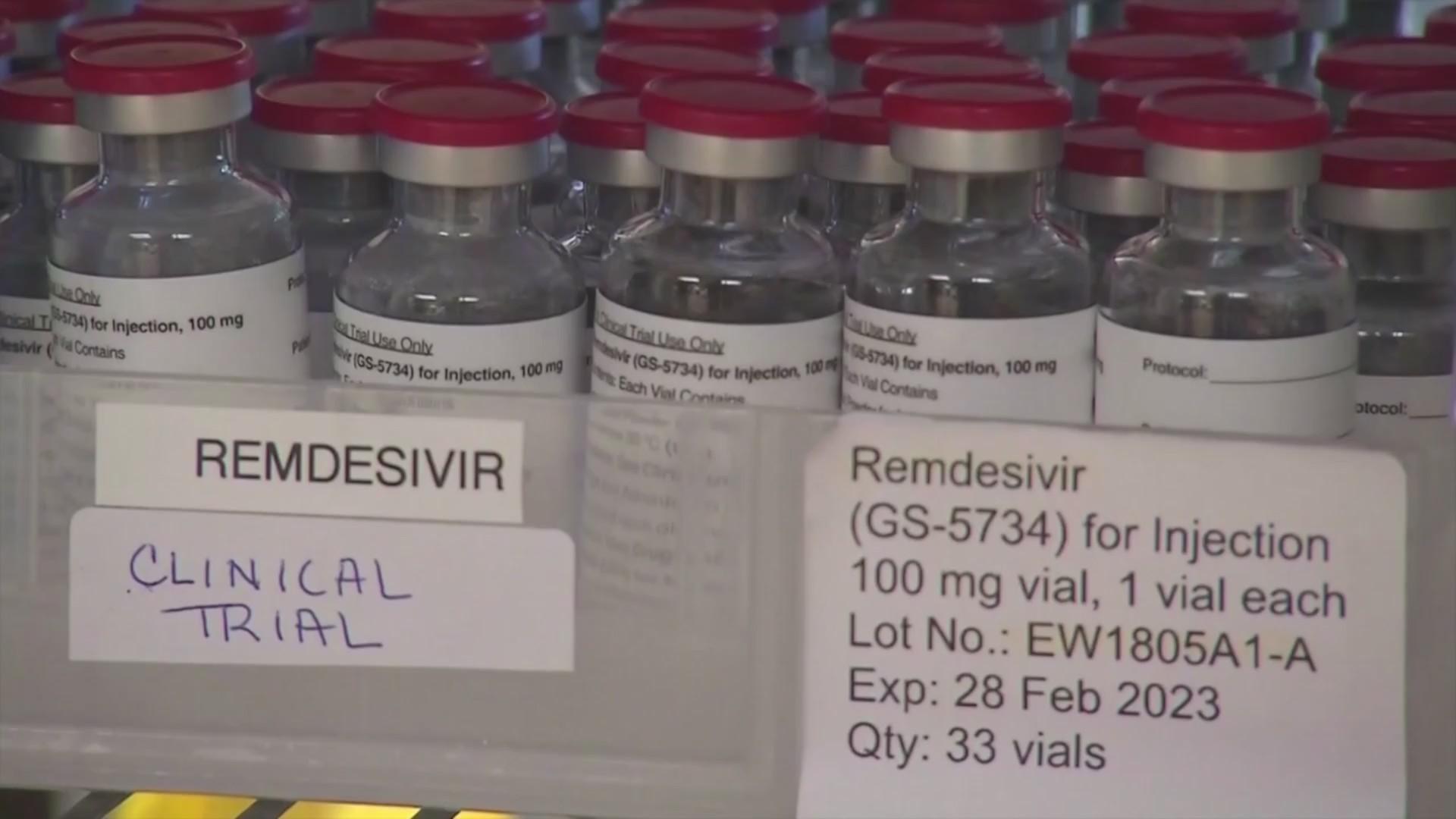Remdesivir COVID-19 trials