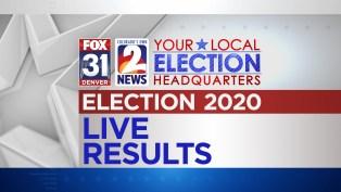 Election 2020 | Results & Live Updates | FOX31 Denver, Colorado