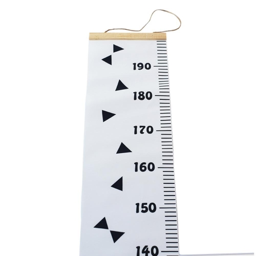 Growth chart baby wall hanging handing ruler wood frame height measurement rulers also buy louis will rh jumia