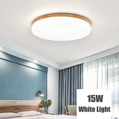 Led Ceiling Light Living Room Blue And Grey Generic Modern Simple Square Wood Bedroom Home Lamp Best Price Jumia Kenya