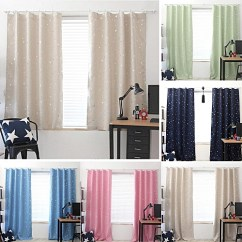 Window Curtains Living Room Wall Tiles For Generic Star Bedroom Blackout Curtain Decor Best Price Jumia Kenya