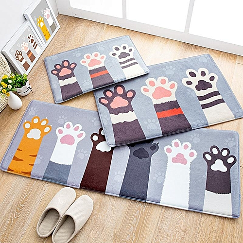 kitchen carpet buy sink generic flannel floor mat home door mats long bedroom anti skid multi
