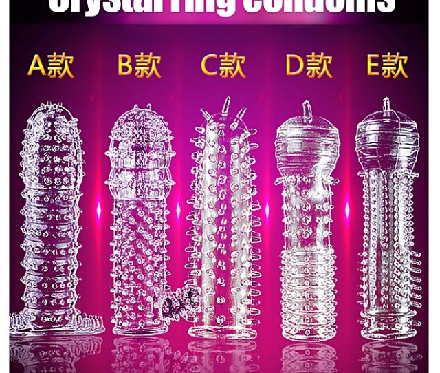 Hot1pc New Penis Sleeve Delay Time Crystal Rings Reusable Condom Penis Sleeves Penis Extension