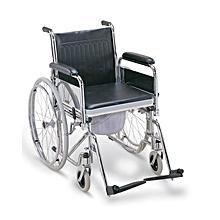 wheelchair jumia best folding chair wheelchairs buy online kenya foldable commode standard black