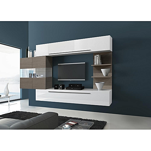 living room tv stand poufs for roman design white set with safari led wood best price