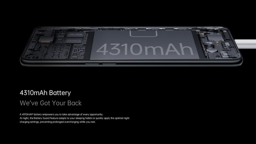 Oppo Reno 5 F - Battery