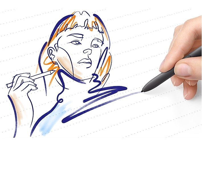 Draw inspiration with S Pen