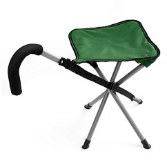 Walking Stick Chair Helps You Stand Up Generic Folding Cane With Stool Stadium Easy Fold Seat Best Price Jumia Kenya