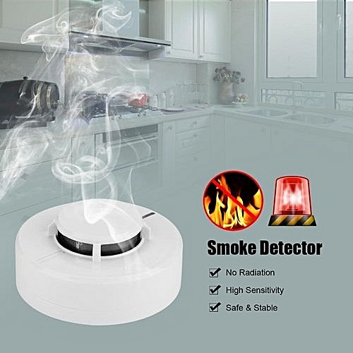 kitchen smoke detector movable islands generic high sensitive photoelectric alarm sensor for home hotel office safety best price jumia kenya