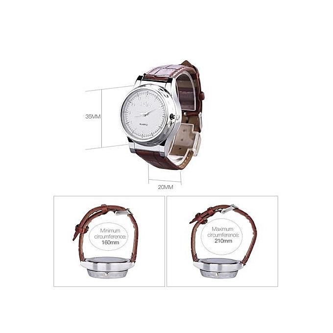 Generic Men USB Lighter Watch Quartz Wristwatch Flameless