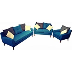 Buy Living Room Furniture Online Modern Farmhouse Lighting Jumia Kenya 3 2 1 Blue Fabric Sofa Set With Grey