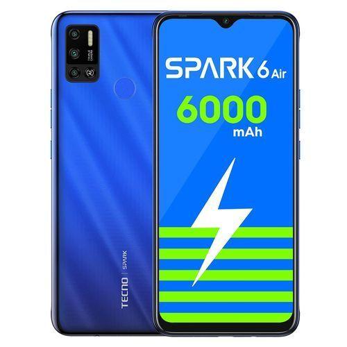 Spark 6 Air '7.0' 32GB 2RAM,4G 6000 Mah ,Dual - Blue