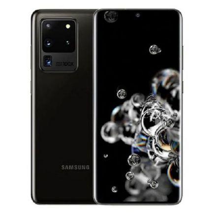 "Expensive phones - product_image_name-Samsung-Galaxy S20 Ultra 6.9"", 128GB + 12GB (Dual SIM) - Black-1"