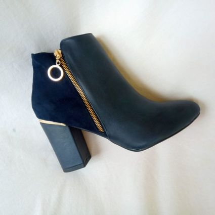 Women Shoes - product_image_name-Generic-Ladies' Trendy Leather Ankle Boots-1