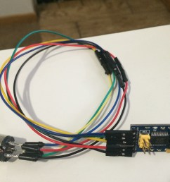 homebrew 6 pin din to usb cable [ 3264 x 2448 Pixel ]
