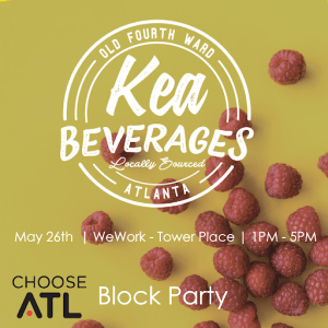 Kea Beverages Block Party at WeWork