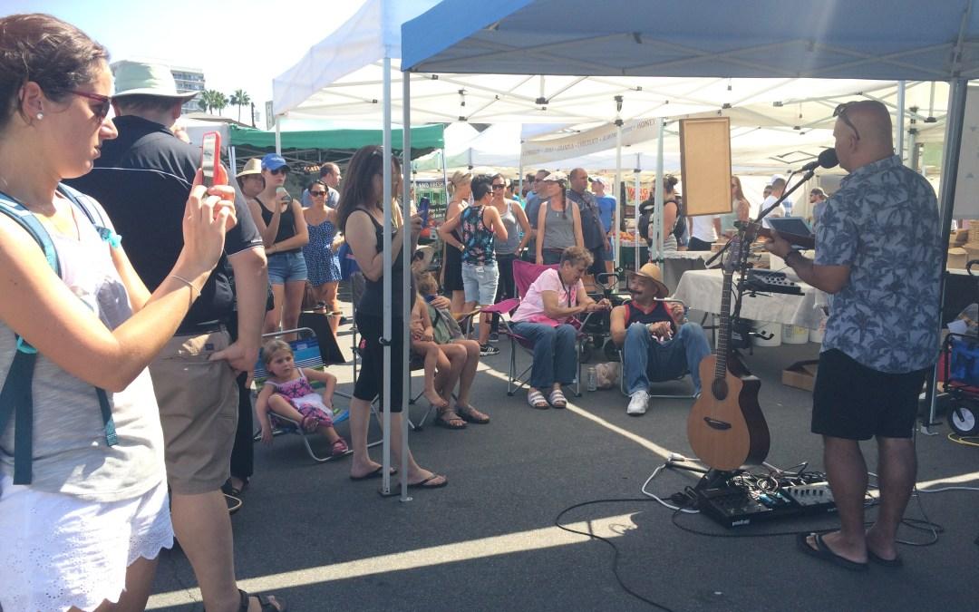 Hillcrest Farmers Market, San Diego Entertains Hawaiian Style