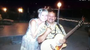 keahi entertains beautiful couple with hawaiian music at cardiff by the sea lodge in san diego2