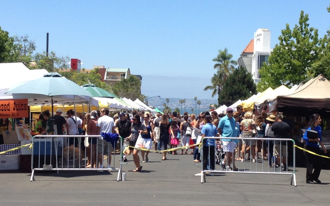 A Little Hawaii at Little Italy Farmers Market