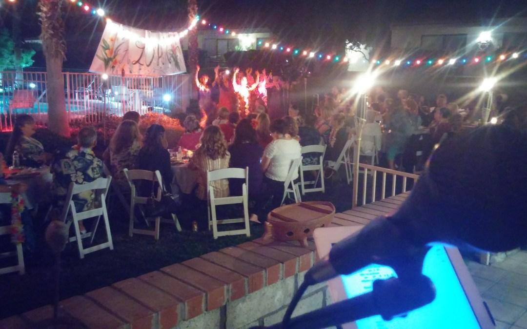 Palm Desert Hula Birthday Party