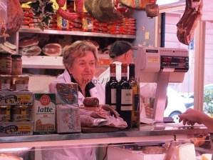 Lina of Lina & Enzo Lazzerini in Mercato Testaccio