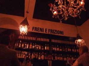 Freni e Frizioni, a hip bar in Trastevere