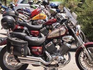 Motorcycles at Miele Praconi in San Mauro Pascoli