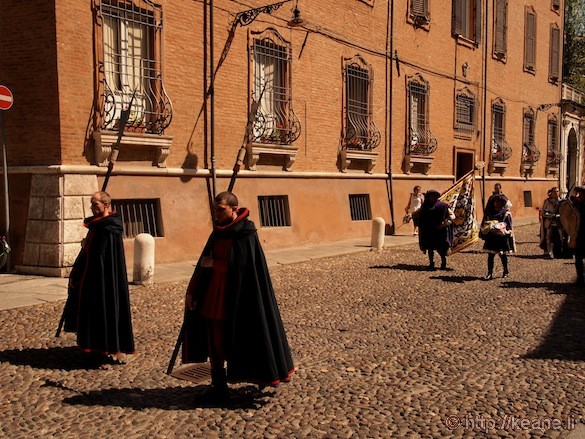 Palio di Ferrara - Parade