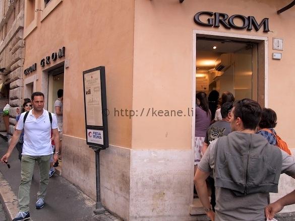 Grom - Gelato in Rome's Piazza Navona