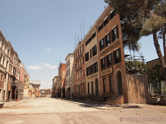 Cinecittà - Set for 'Gang's of New York' and other films