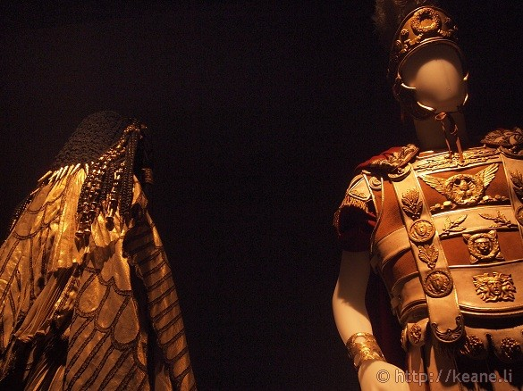Cinecittà - Costumes from 'Cleopatra' for Cleopatra and Marc Antony
