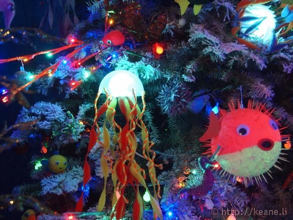 Honolulu City Lights - Christmas 2012 - Fish Tree