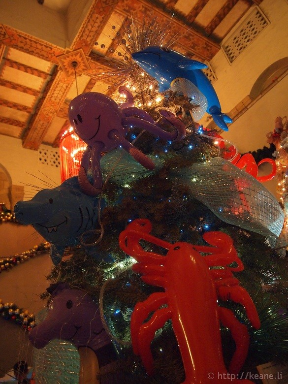 Honolulu City Lights - Christmas 2012 - Undersea Tree