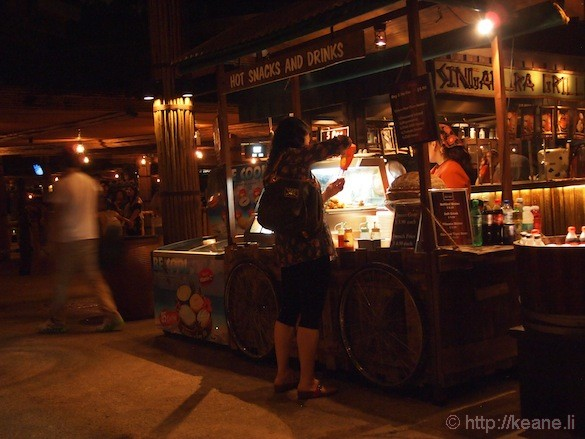 Singapore's Night Safari - Shopping