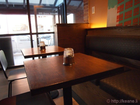 Grand Opening of Muka in San Francisco - Table and Front Door