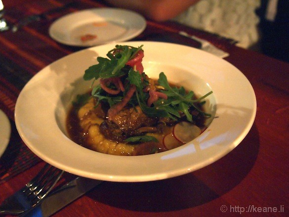 Grand Opening of Muka in San Francisco - Grilled Meat and Polenta