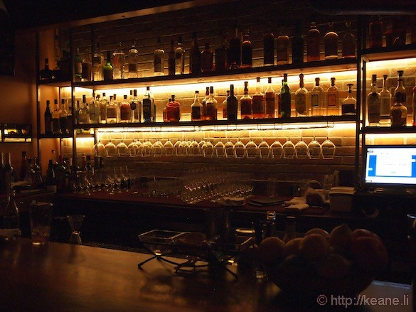 Grand Opening of Muka in San Francisco - Illuminated Bar at Night