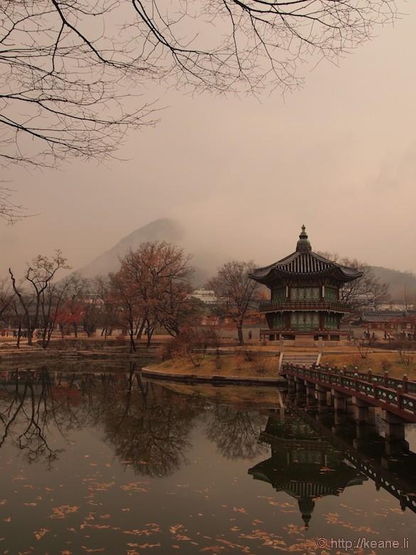 Pagoda in Gyeongbokgung Palace