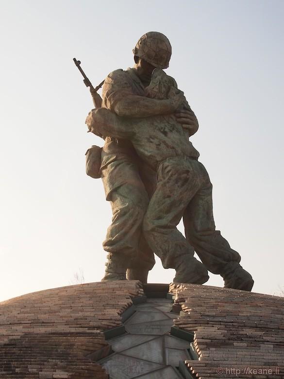 Statue at War Memorial of Korea in Seoul