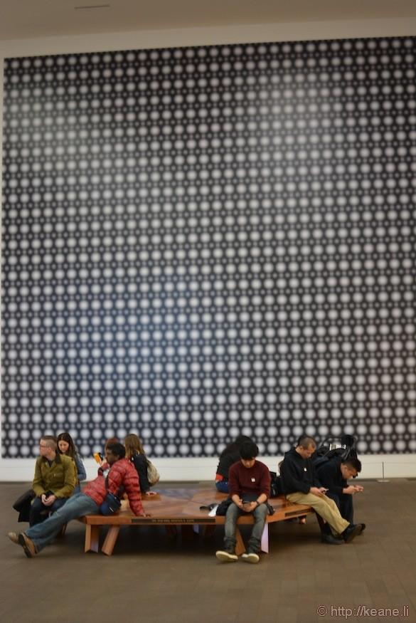 Inside the de Young Museum