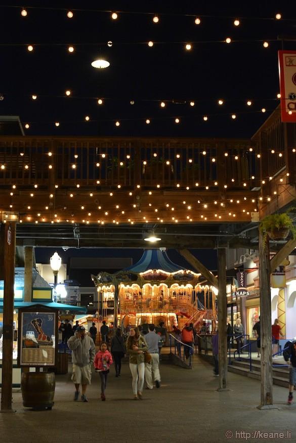 Pier 39 Carousel at Night