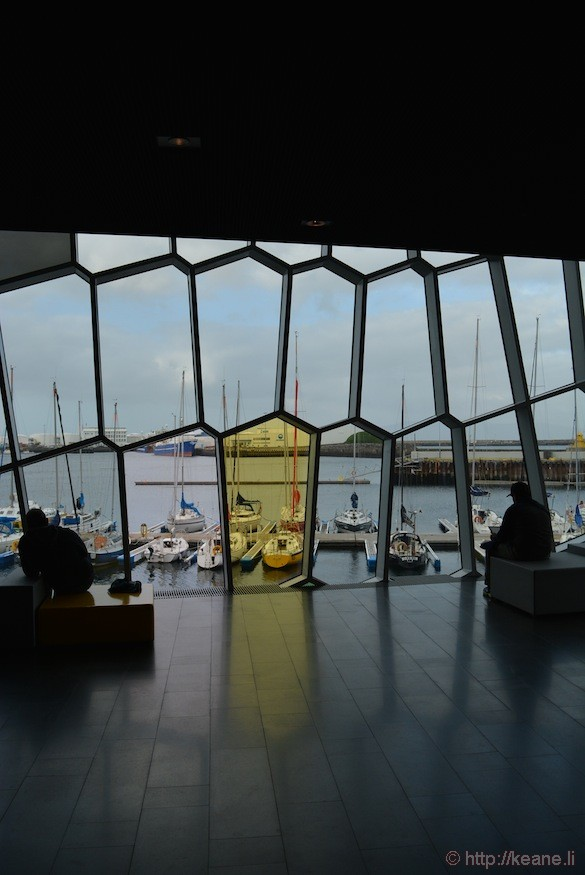 Inside the Harpa Concert Hall