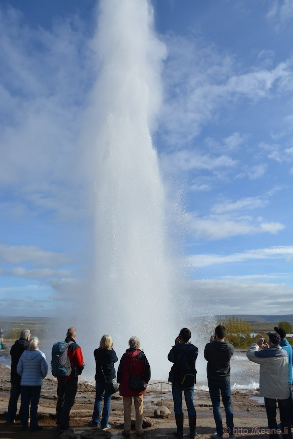 Geysir and Strokkur Hot Springs in Iceland
