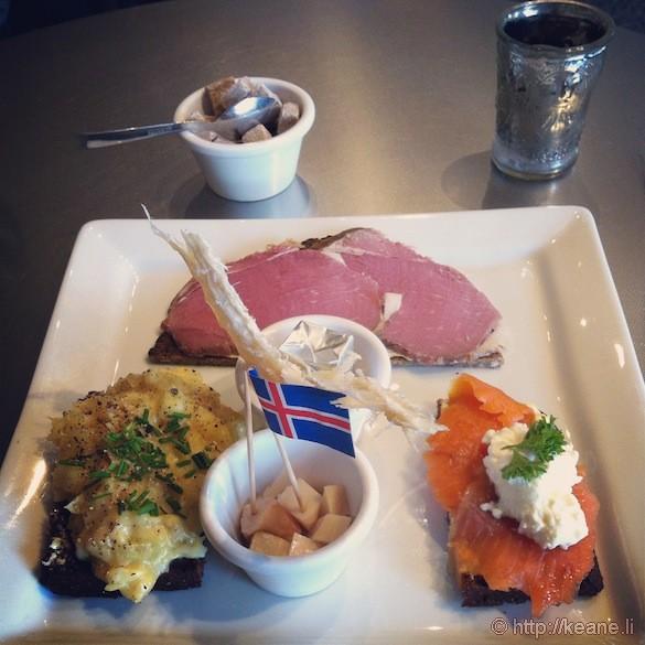 Iceland Sampler at Café Loki in Reykjavík