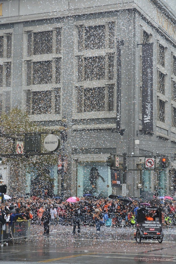 SF Giants World Series 2014 Parade