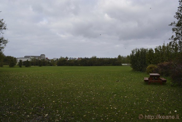 Reykjavík, Iceland - Hljómskálagarður Park