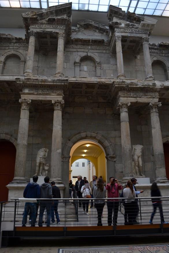 Market Gate of Miletus in Berlin's Pergamon Museum