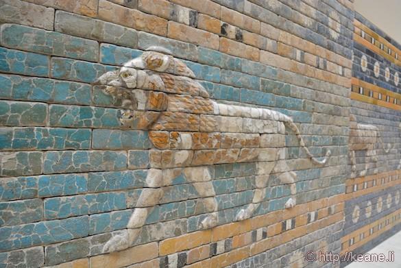Mosaics in Berlin's Pergamon Museum