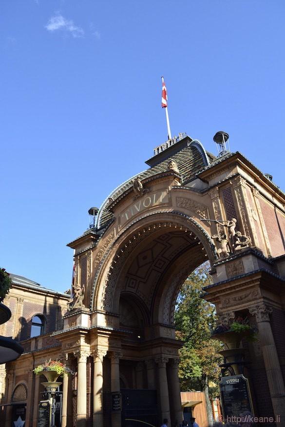 Tivoli Gardens Entrance Copenhagen