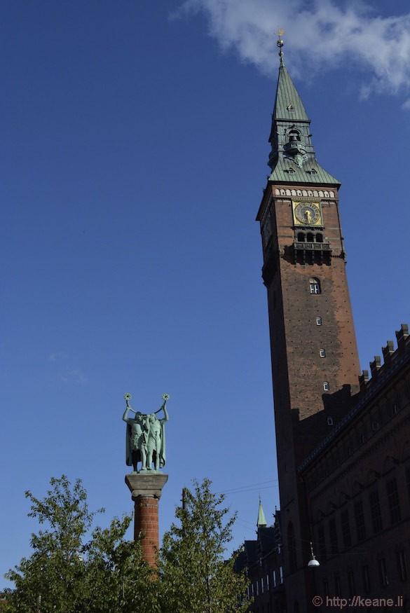 Copenhagen City Hall Tower
